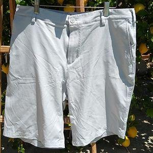 Adidas ClimaLite Microfiber Flat Front Shorts- 36
